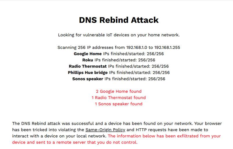 DNS Rebind Toolkit