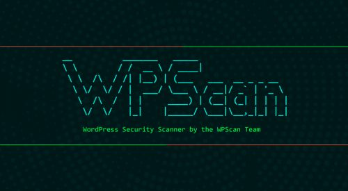 Black Box WordPress Vulnerability Scanner – WPScan