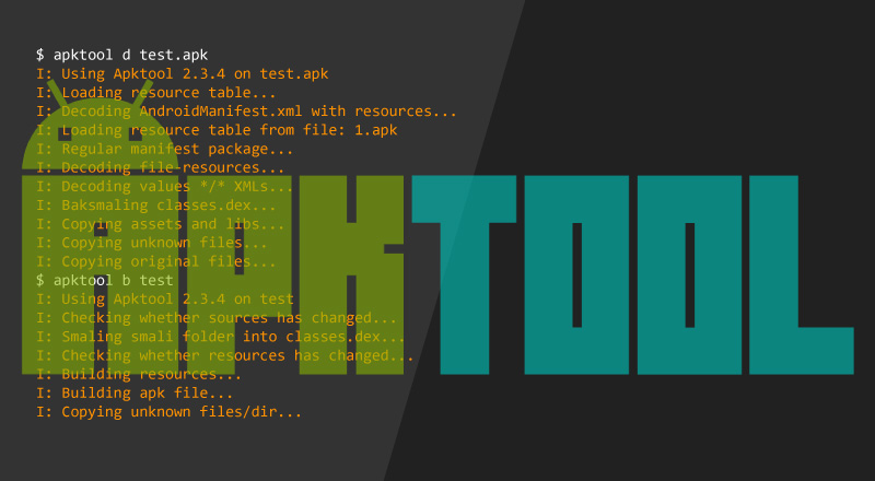Apktool - Tool For Reverse Engineering Android apk Files - CYBERPUNK