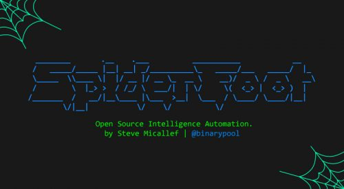 OSINT Collection and Reconnaissance Tool – SpiderFoot