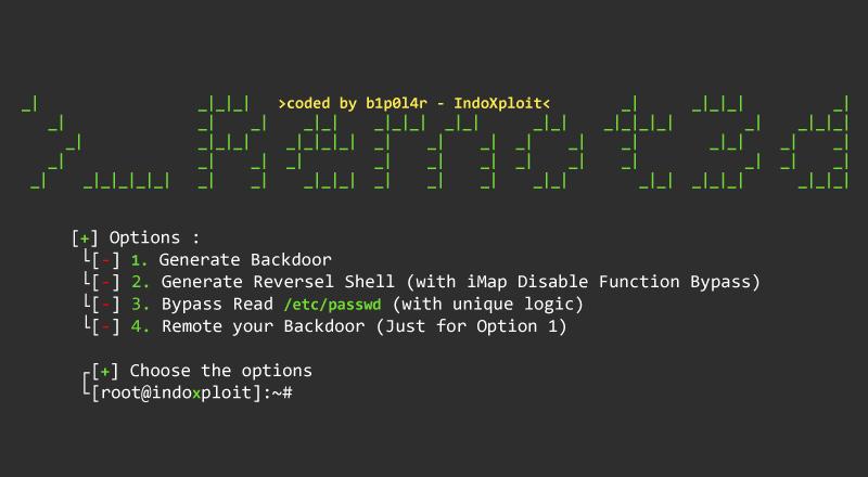 Remot3d: An Simple Exploit for PHP Language