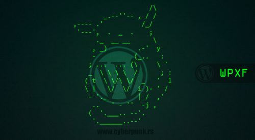 WordPress Exploit Framework [WPXF]