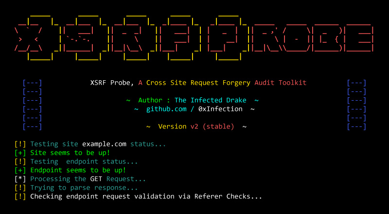 XSRFProbe: Prime CSRF Audit and Exploitation Toolkit