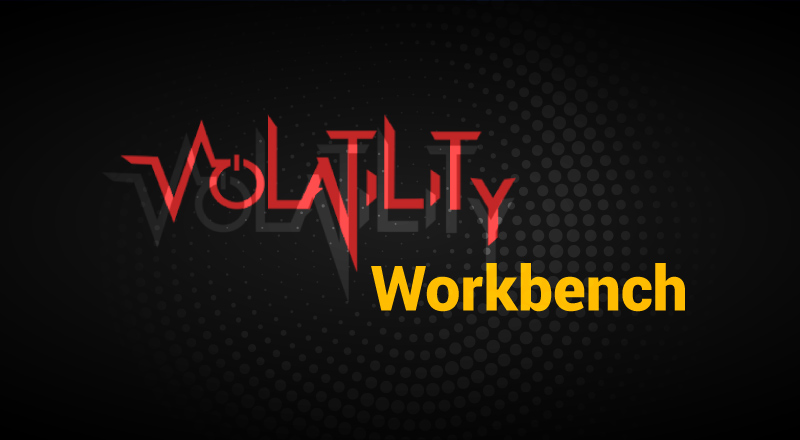Volatility Workbench: GUI For Volatility Framework