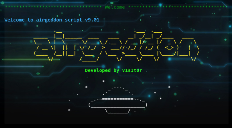 Airgeddon: WiFi Network Security Auditing Bash Script